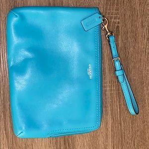 💯% Authentic Coach iPad mini case/clutch
